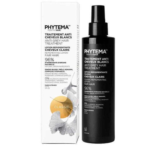 Tratament repigmentare pentru par alb sau grizonat, Classic, Positiv'Hair, Phytema 150ml