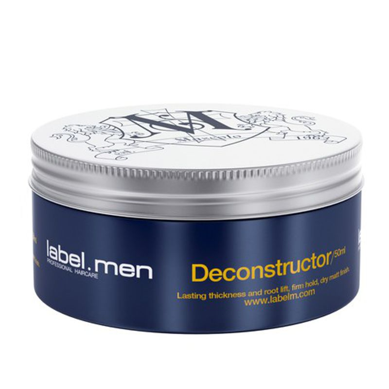 Ceara de Par - Label.men Deconstructor Firm Hold, Dry Matt Finish 50 ml imagine produs