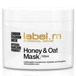 Masca pentru Par Uscat - Label.m Honey & Oat Mask 120 ml