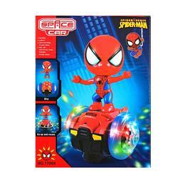 Figurina Spiderman pe hoverboard cu sunete si lumini - Peppa Pig