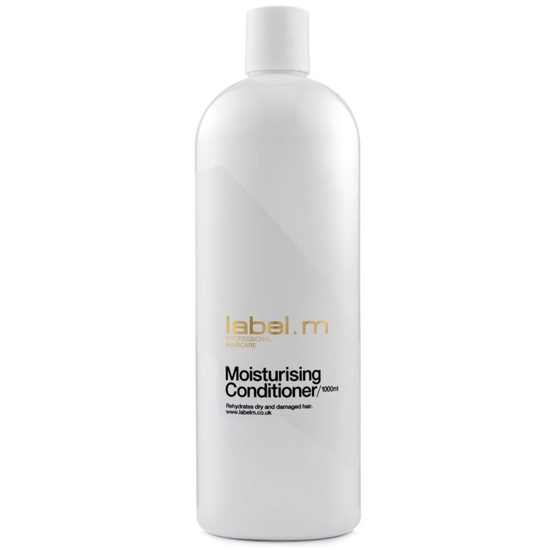 balsam pentru par uscat si degradat - label.m moisturizing conditioner 1000 ml.jpg