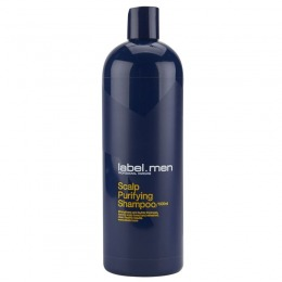 Sampon Barbatesc pentru Par Gras - Label.men Scalp Purifying Shampoo 1000 ml