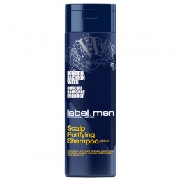 Sampon Barbatesc pentru Par Gras - Label.men Scalp Purifying Shampoo 250 ml