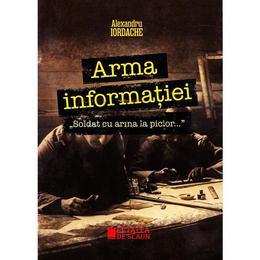Arma informatiei. Soldat cu arma la picior... - Alexandru Iordache, editura Cetatea De Scaun