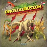 Dinoszauruszok - kerdesekes valaszok angolul es magyarul. 60 de intrebari si raspunsuri despre dinozauri, editura Roland