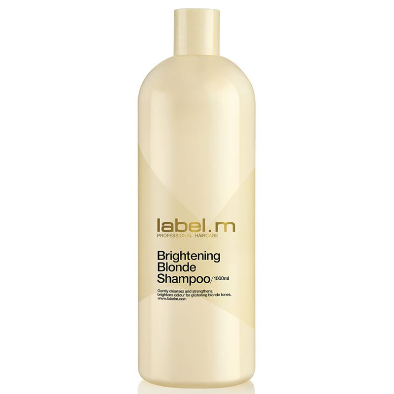 sampon pentru par blond - label.m brightening blonde shampoo 1000 ml.jpg