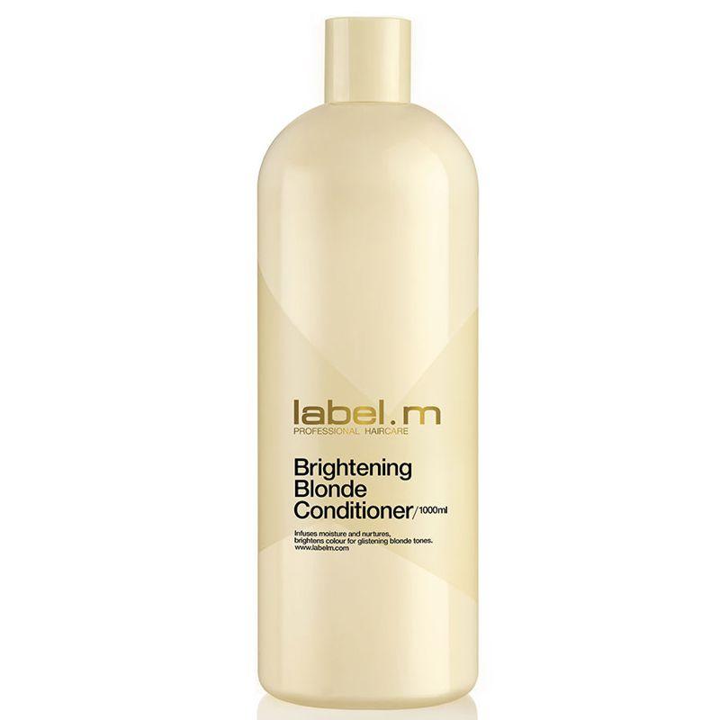 Balsam pentru Par Blond - Label.m Brightening Blonde Conditioner 1000 ml poza