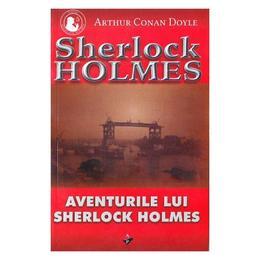 Aventurile lui Sherlock Holmes - Arthur Conan Doyle, editura Aldo Press