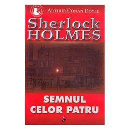 Semnul celor patru - Arthur Conan Doyle, editura Aldo Press