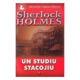 Un studiu stacojiu - Arthur Conan Doyle, editura Aldo Press
