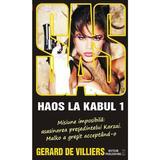 Haos la Kabul - Gerard de Villiers, editura Meteor Press