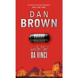 Codul lui Da Vinci - Dan Brown, editura Rao