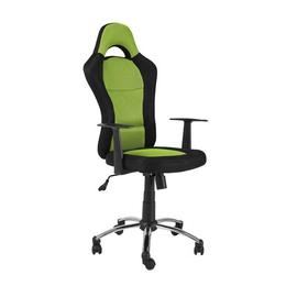 Scaun directorial SL Q039, negru-verde