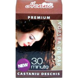 Vopsea de Par Premium Henna Sonia, Castaniu Deschis, 60 g de la esteto.ro