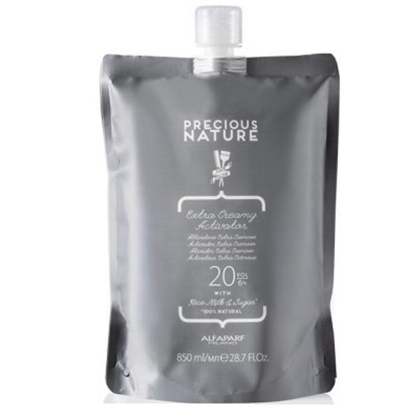 Oxidant Crema 6% - Alfaparf Milano Precious Nature Extra Creamy Activator 20 vol, 850ml imagine produs