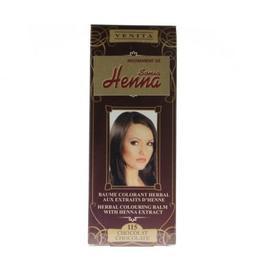 Balsam Colorant cu Extract de Henna Henna Sonia, Nr.115 Ciocolatiu 75 ml de la esteto.ro