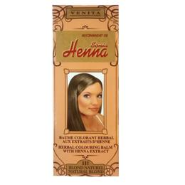 Balsam Colorant cu Extract de Henna Henna Sonia, Nr.111 Blond Natural 75 ml