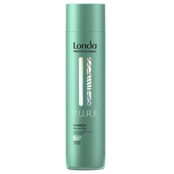 Sampon Natural cu Unt de Shea - Londa Professional PURE Shea Butter Shampoo, 250ml imagine