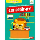 Carte de colorat si activitati de concentrare. educolor (4-6 ani)