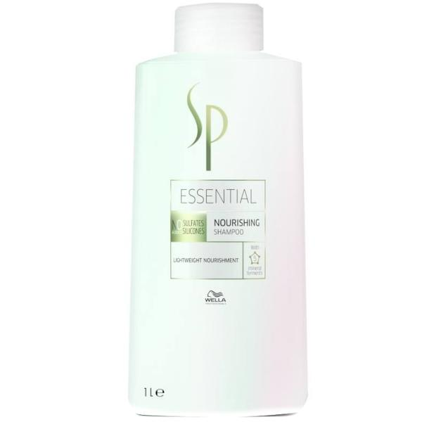 Sampon Nutritiv - Wella SP Essential Nourishing Shampoo, 1000ml imagine