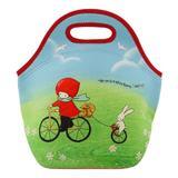 Geanta pentru pranz Poppi Love - Cycling, 30 x 28 x 16 cm