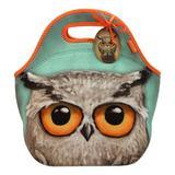 Geanta pentru pranz Santoro - Book Owl, 30 x 28 x 16 cm