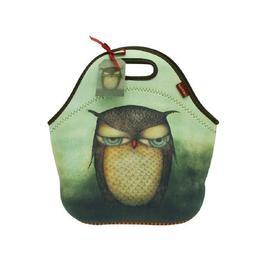 Geanta pentru pranz Santoro - Grumpy Owl, 30 x 28 x 16 cm