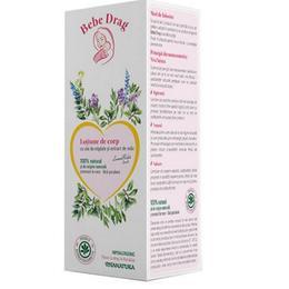 Lotiune de Corp Migdale si Extract de Ovaz Bebe Drag, 250 ml