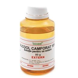 Alcool Camforat 10% Bioeel, 80g