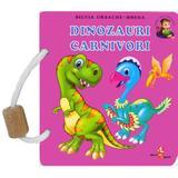 Dinozauri carnivori - Silvia Ursache-Brega, editura Silvius Libris