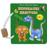 Dinozauri erbivori - Silvia Ursache-Brega, editura Silvius Libris