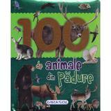 100 de animale din padure, editura Girasol
