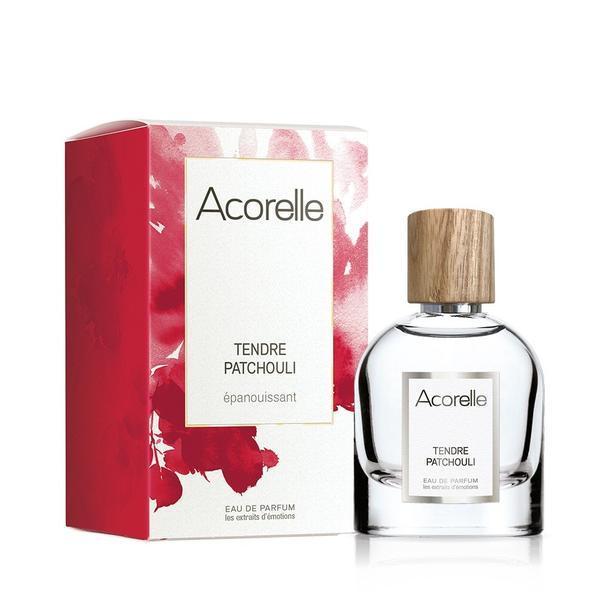 Apa de parfum bio pentru femei Tendre patchouli Acorelle 50ml imagine produs