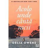 Acolo unde canta racii - Delia Owens, editura Pandora