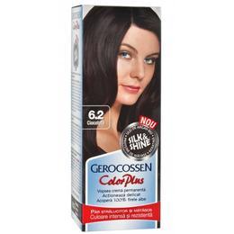 Vopsea de Par Silk&Shine Gerocossen Color Plus, nuanta 6.2 Ciocolata, 50 g de la esteto.ro