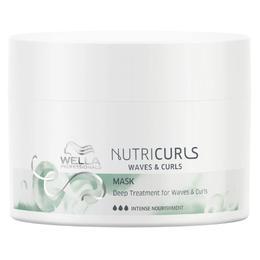 Masca Tratament pentru Par Cret si Ondulat - Wella Professionals Nutricurls Mask Deep Treatment for Waves & Curls, 150ml
