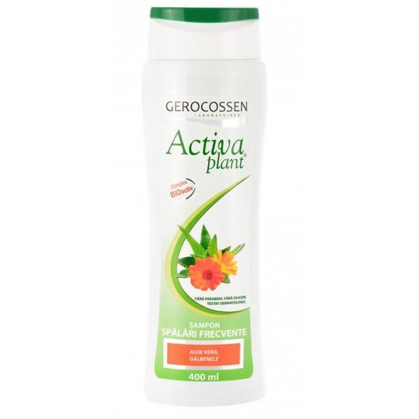 Sampon Spalari Frecvente Activia Plant Gerocossen, 400 ml: poza