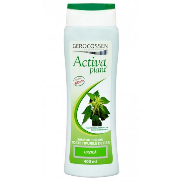 Sampon cu Urzica Activia Plant Gerocossen, 400 ml poza