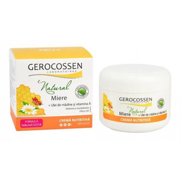 Crema Nutritiva Miere + Masline Gerocossen, 100 ml poza