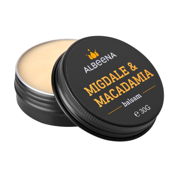 Balsam cu Migdale si Macadamia Albeena, 30g imagine produs