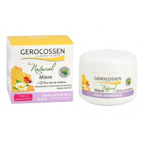 Crema Antirid de Zi Natural Gerocossen, 100 ml poza