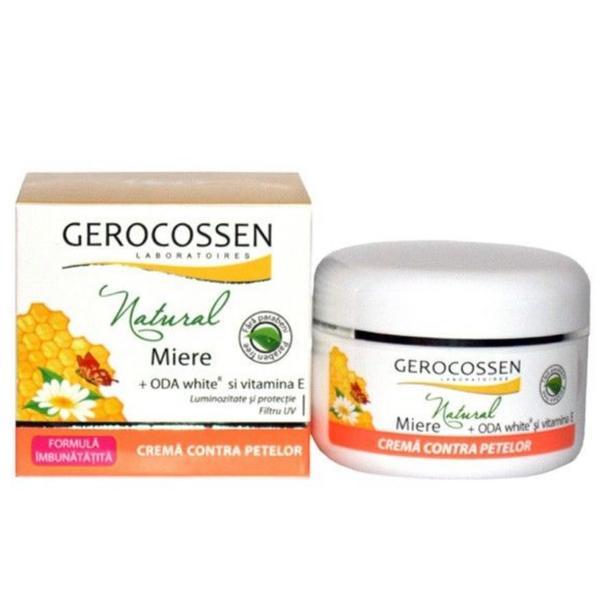 Crema Contra Petelor Natural Gerocossen, 100 ml poza