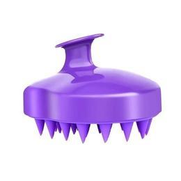 Perie mov pentru curatarea scalpului,Beyoutiful, din silicon, recomandata tuturor inclusiv copiilor,curatare delicata, maseaza, elimina eficient excesul de sebum, fara baterii, rezistenta la apa
