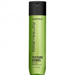 Sampon pentru Textura - Matrix Total Results Texture Games Shampoo 300 ml