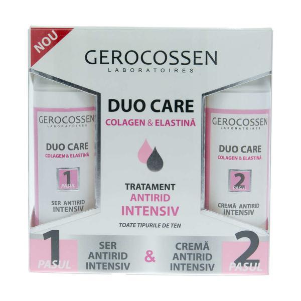 Tratament Antirid Duo Care Gerocossen, 60 ml poza