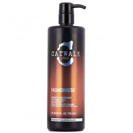 Balsam pentru Par Brunet - TIGI Catwalk Fashionista Brunette Conditioner 750 ml