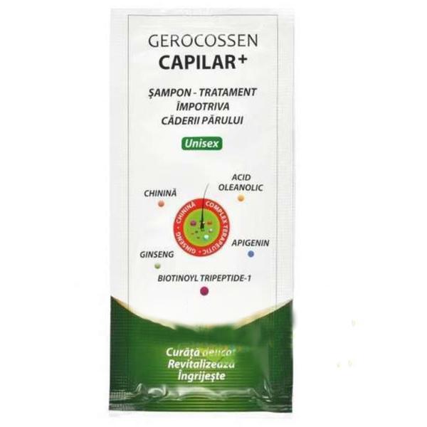Sampon Tratament Capilar+ Gerocossen, 15 ml poza
