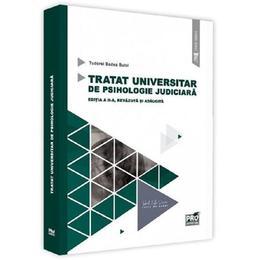 Tratat universitar de psihologie judiciara Ed.2 - Tudorel Badea Butoi, editura Pro Universitaria