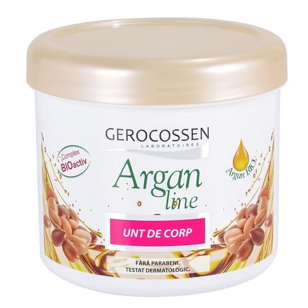 Unt de Corp Argan Line Gerocossen, 450 ml poza