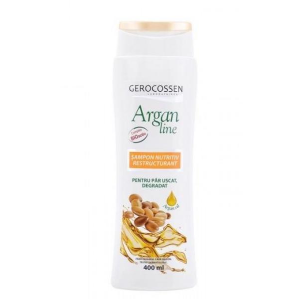 Sampon Nutritiv Restructurant Argan Line Gerocossen, 400 ml poza